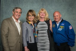 Ira, Congresswoman Gabby Giffords, Kim and Austranaut Mark Kelly