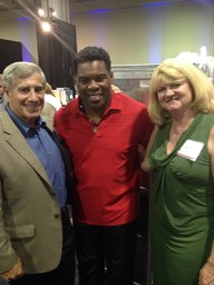Ira, Kim and Herschel Walker