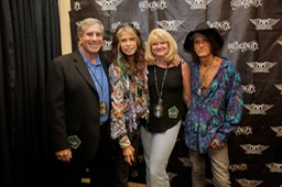 Ira, Steven Tyler, Kim and Joe Perry